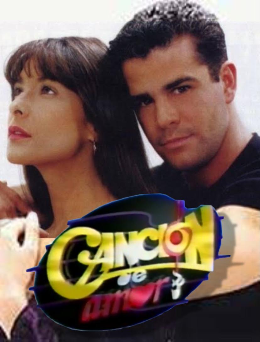 Eduardo Capetillo and Lorena Rojas in Canción de amor (1996)