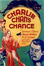 Charlie Chan's Chance (1932) Poster - Movie Forum, Cast, Reviews