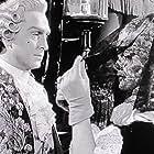 Stephen Bekassy and Nancy Guild in Black Magic (1949)