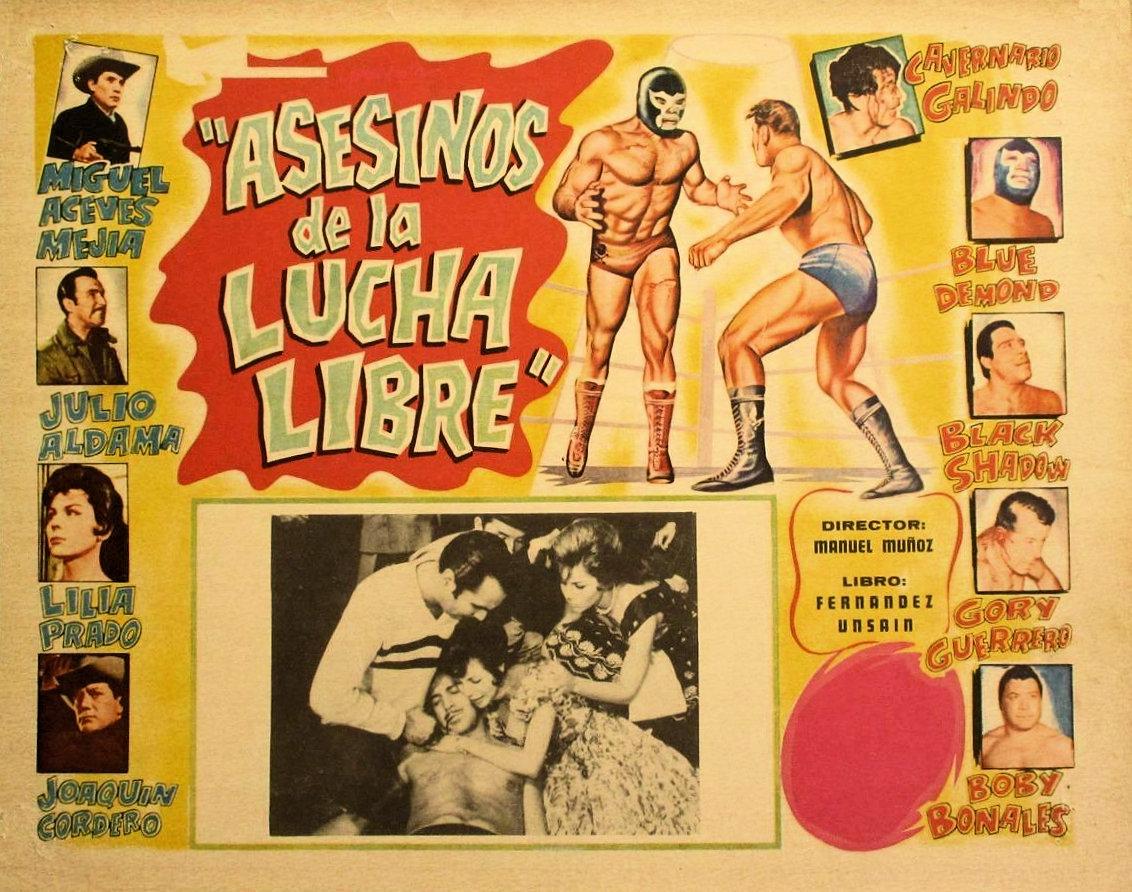 Asesinos de la lucha libre (1962)