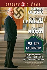 93, rue Lauriston Poster