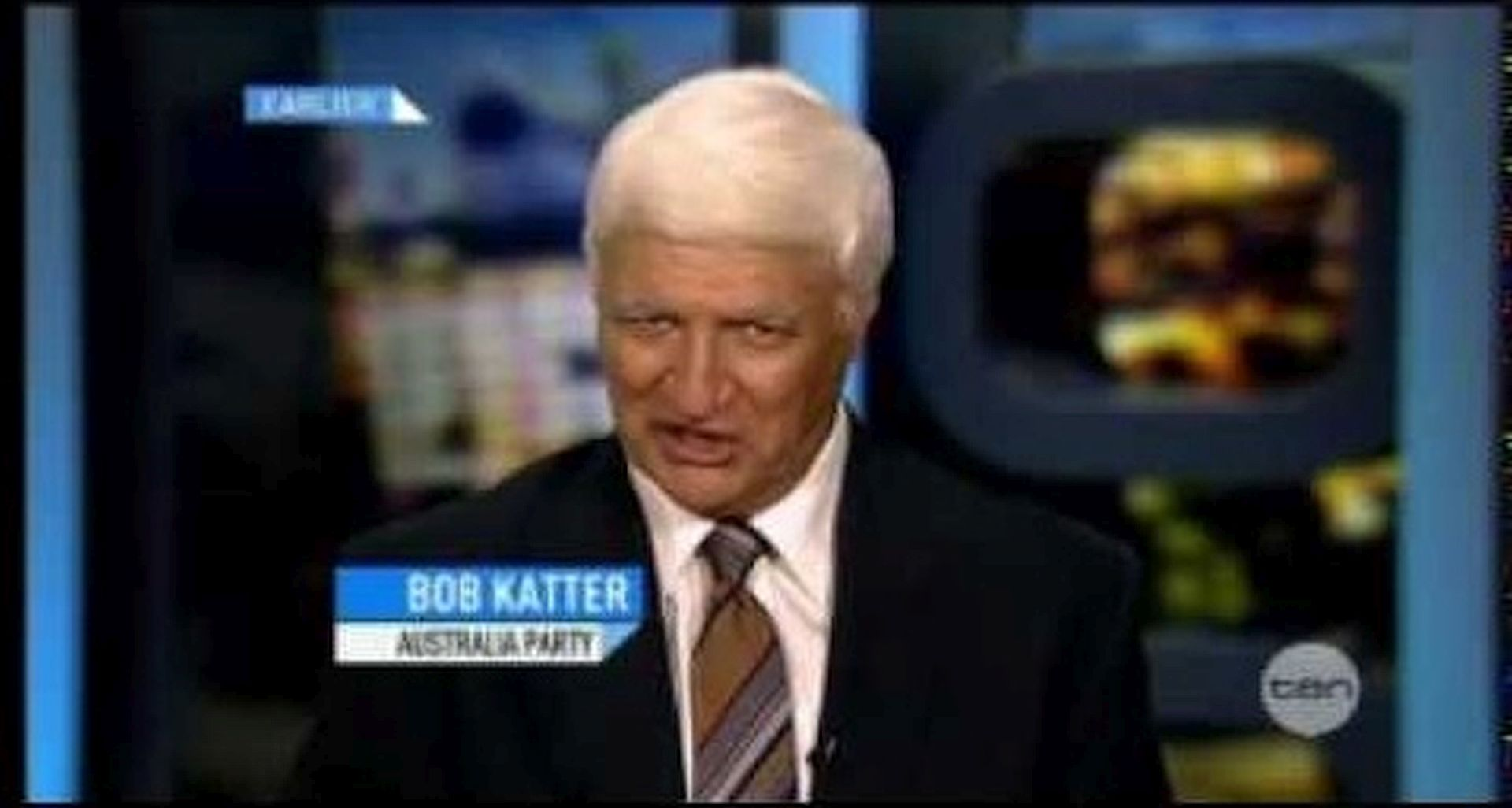 Bob Katter in The 7PM Project (2009)
