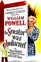 The Senator Was Indiscreet (1947) Poster