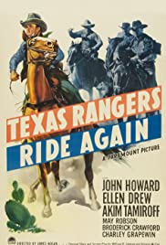Texas Rangers Ride Again (1940) Poster - Movie Forum, Cast, Reviews