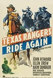 Texas Rangers Ride Again Poster
