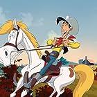 Lambert Wilson and Adrien Antoine in Tous à l'Ouest: Une aventure de Lucky Luke (2007)
