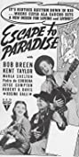 Escape to Paradise (1939) Poster