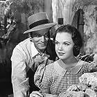 Alan Curtis and Gloria Jean in Destiny (1944)