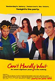 Seth Green, Jennifer Love Hewitt, Charlie Korsmo, Peter Facinelli, Lauren Ambrose, and Ethan Embry in Can't Hardly Wait (1998)