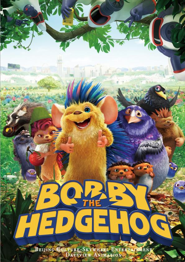 EŽIUKAS BOBIS (2016) / BOBBY THE HEDGEHOG