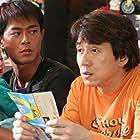 Jackie Chan, Louis Koo, and Matthew Medvedev in Bo bui gai wak (2006)