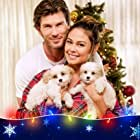 Vanessa Lachey and Christopher Russell in Christmas Unleashed (2019)
