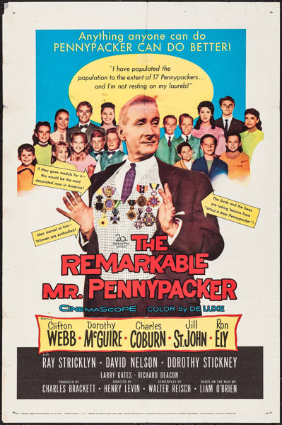 The Remarkable Mr. Pennypacker (1959)