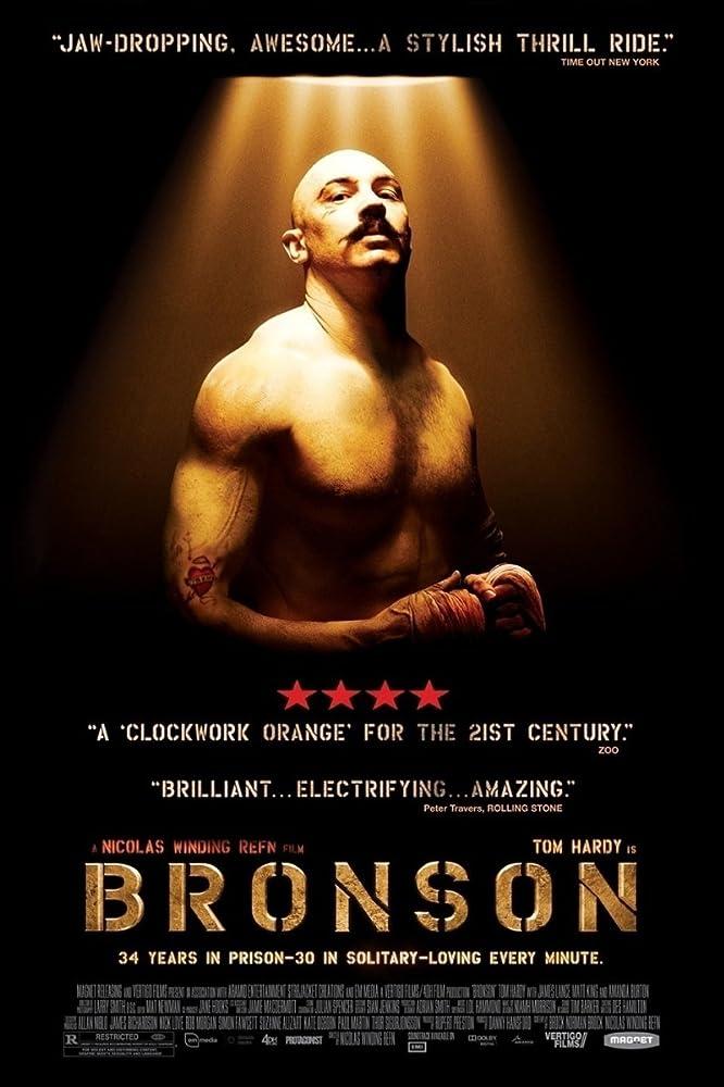 Tom Hardy in Bronson (2008)