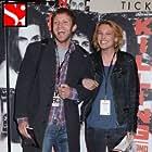 Diarmaid Murtagh & Jamie Campbell Bower. 'Killing Bono' European Premiere, Dublin.