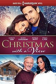 Vivica A. Fox, Patrick Duffy, Kaitlyn Leeb, and Scott Cavalheiro in Christmas with a View (2018)