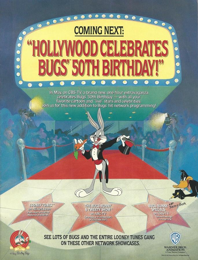 Looney Tunes Cartoons Happy Birthday Bugs Bunny