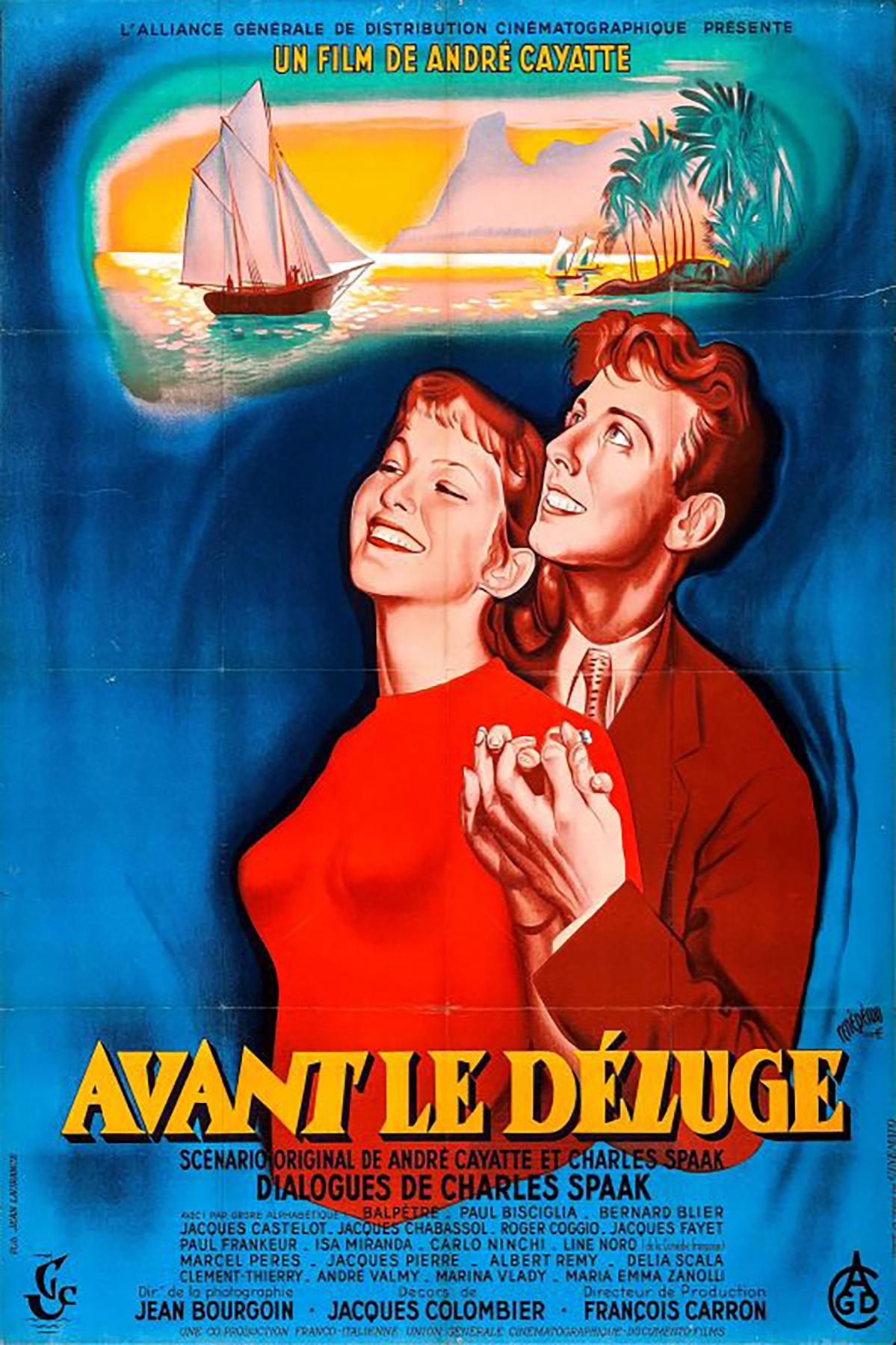 Avant le déluge (1954)