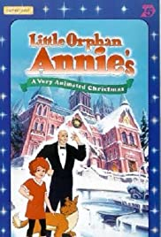 Little Orphan Annie's A Very Animated Christmas Poster