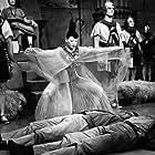 John Agar, Hugh Beaumont, Yvonne De Lavallade, Arthur D. Gilmour, and Patrick Whyte in The Mole People (1956)
