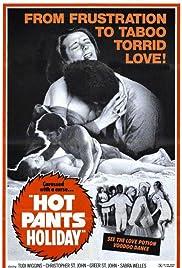 Hot Pants Holiday Poster
