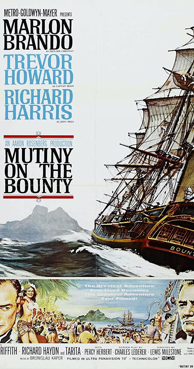 Subtitle of Mutiny on the Bounty