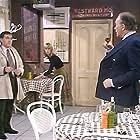 Tony Britton, Robert Gillespie, and Tessa Wyatt in Robin's Nest (1977)