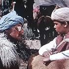 Errol Flynn and Dean Stockwell in Kim (1950)