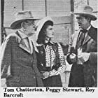 Roy Barcroft, Tom Chatterton, and Peggy Stewart in Code of the Prairie (1944)