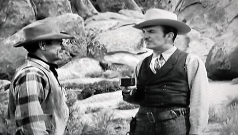 James Harrison and George Sowards in Silent Conflict (1948)