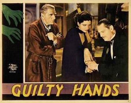 Lionel Barrymore, Kay Francis, and C. Aubrey Smith in Guilty Hands (1931)