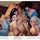 James Coburn, Helen Funai, Shelby Grant, Gianna Serra, and Sigrid Valdis in Our Man Flint (1966)