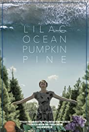 Lilac Ocean Pumpkin Pine Poster