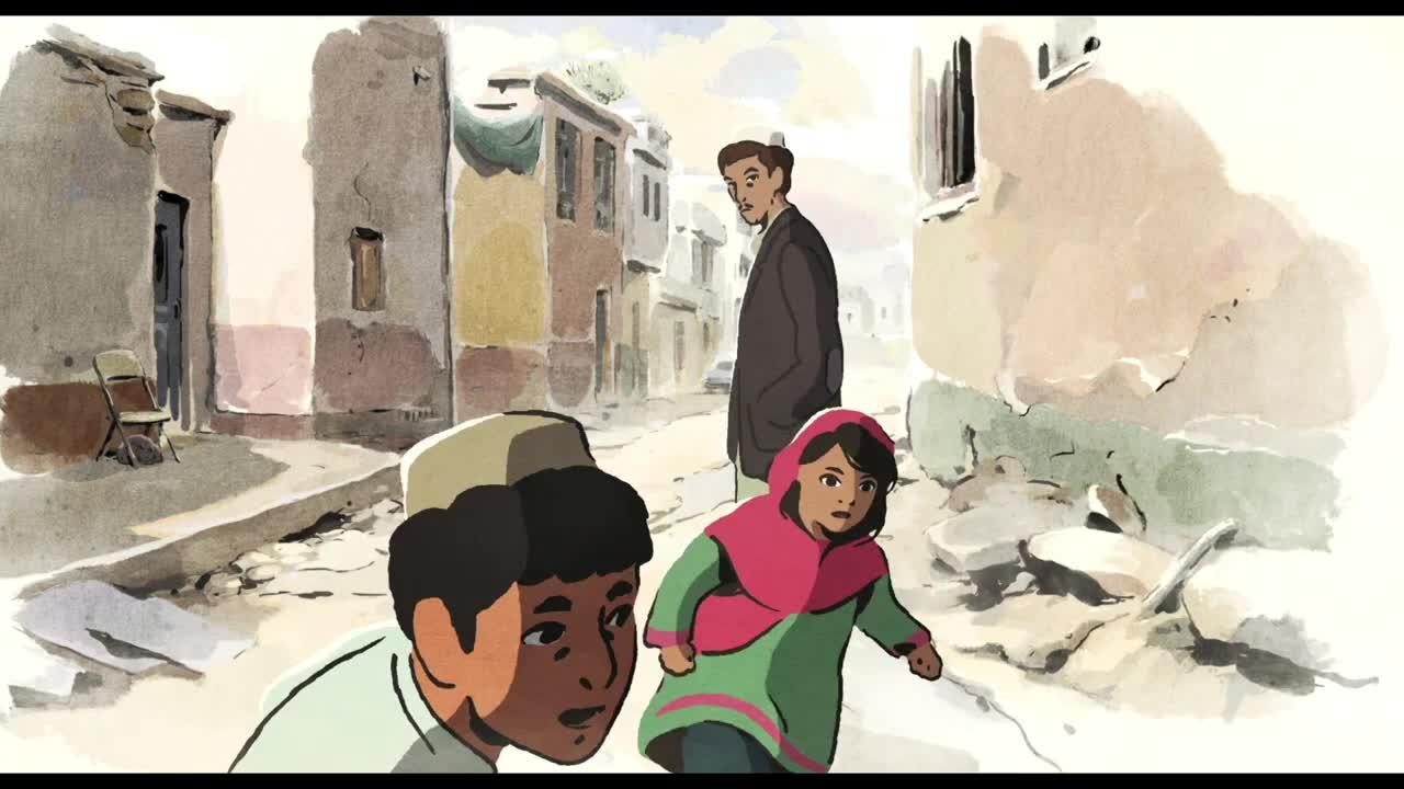 Image result for Les hirondelles de kaboul poster