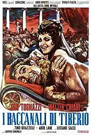 I baccanali di Tiberio Poster