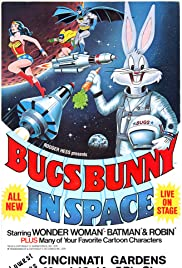 Bugs Bunny in Space Poster