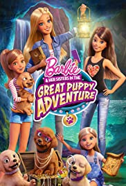 Barbie & Her Sisters in the Great Puppy Adventure Poster
