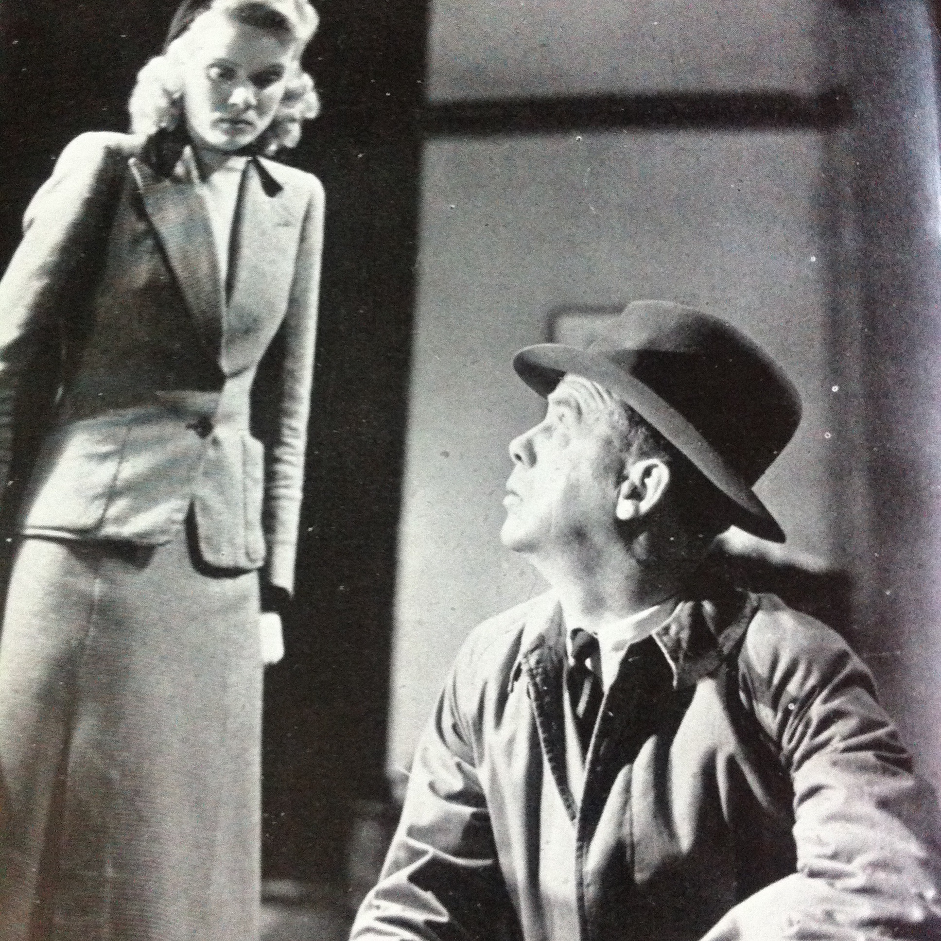 Mervyn Johns and Nova Pilbeam in The Next of Kin (1942)