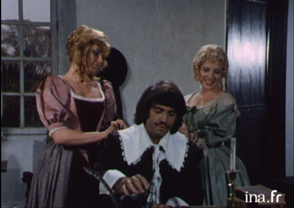 Marianne Comtell, Michèle Grellier, and Roger Miremont in Molière pour rire et pour pleurer (1973)