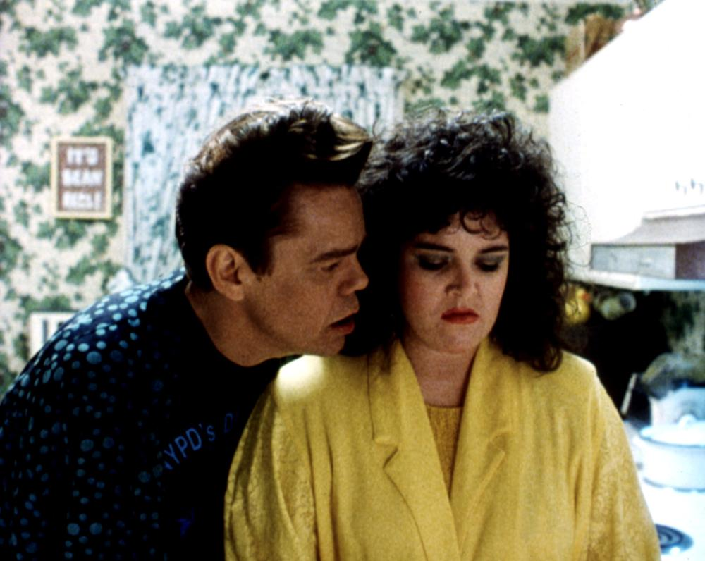 Rosie O'Donnell and David Johansen in Car 54, Where Are You? (1994)