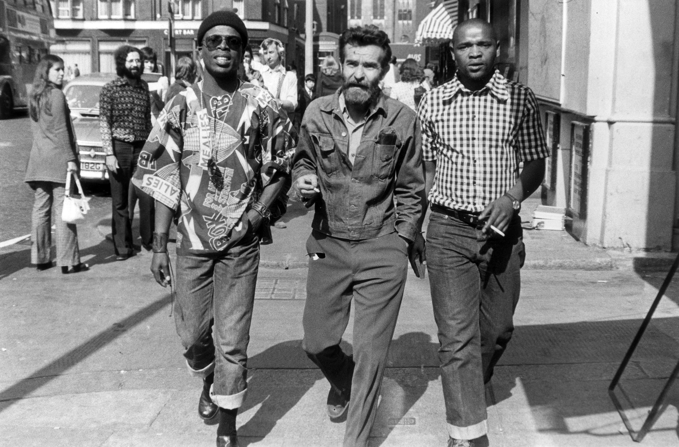 Athol Fugard, John Kani, and Winston Ntshona