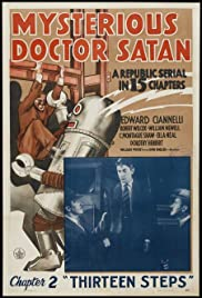 Mysterious Doctor Satan Poster