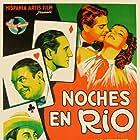 Basil Rathbone, Leo Carrillo, Robert Cummings, Sigrid Gurie, and Victor McLaglen in Rio (1939)