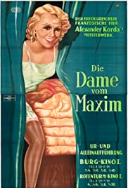 The Girl from Maxim's (1933) Poster - Movie Forum, Cast, Reviews