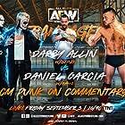 Darby Allin and Daniel Garcia in All Elite Wrestling: Rampage (2021)