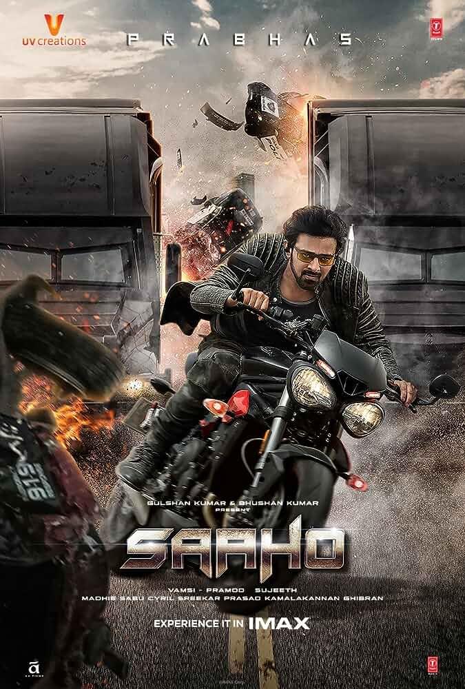 Saaho (2019) 720p HDRip Original Hindi Dubbed Full South Movie Download