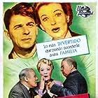 Ronald Reagan, Spring Byington, Charles Coburn, Edmund Gwenn, and Ruth Hussey in Louisa (1950)