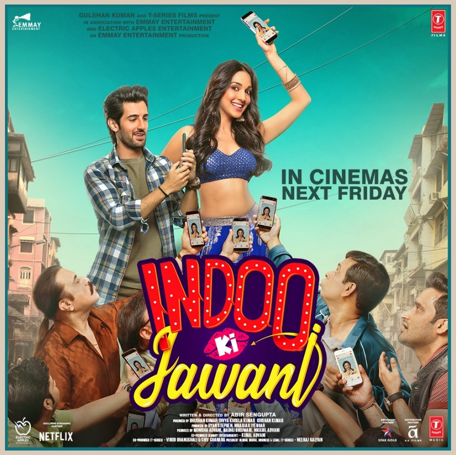 Indoo Ki Jawani 2020 Hindi Full Movie ORG 720p NF HDRip 800MB Download *SK*