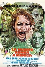 La muerte ronda a Mónica Poster
