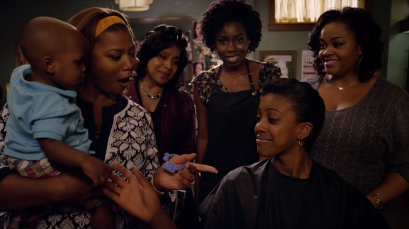 Queen Latifah, Phylicia Rashad, Jill Scott, Adepero Oduye, and Condola Rashad in Steel Magnolias (2012)